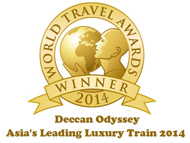 Deccan Odyssey Bags Asia's Leading Luxury Train Award at WTA 2014