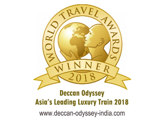 Deccan Odyssey Wins Fifth Successive Award for Best Asian Luxury Train 2018