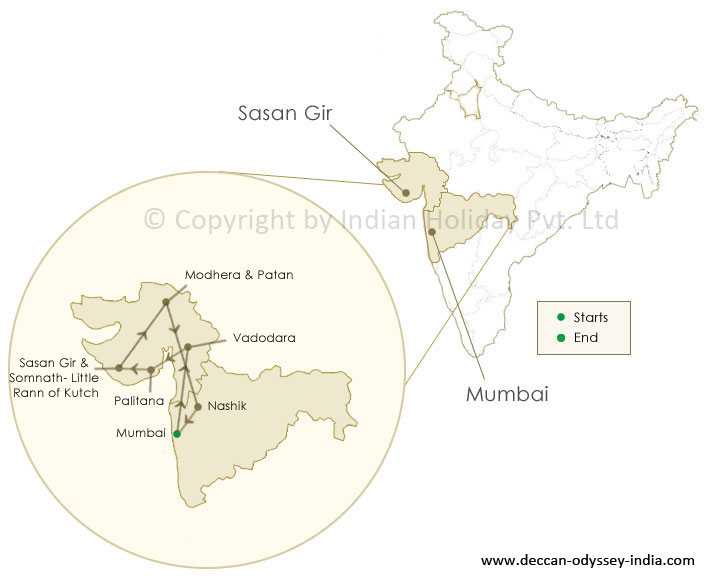 Route Map of the Deccan Odyssey train Tour on map africa usa, map india singapore, map korea usa, map india china, map india malaysia, map minneapolis usa, map india pakistan, map japan usa, map china usa, map india russia, map australia usa, map india australia, map india europe, map india middle east, map france, map canada usa, map germany,