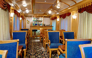 Sitting and Lounge of the train